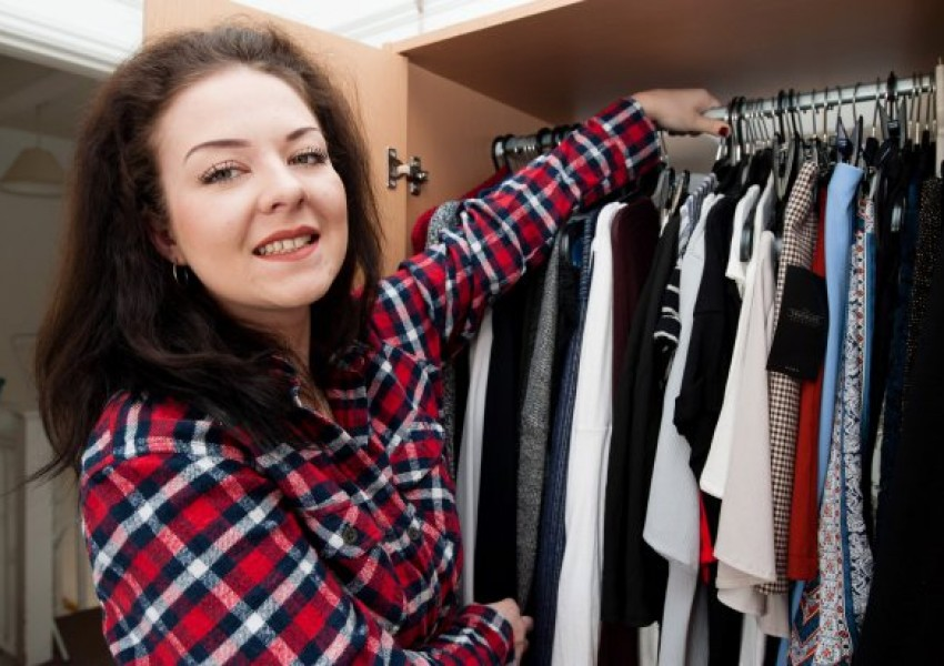 a8545278177 Тя направи цяло състояние, продавайки старите си дрехи онлайн