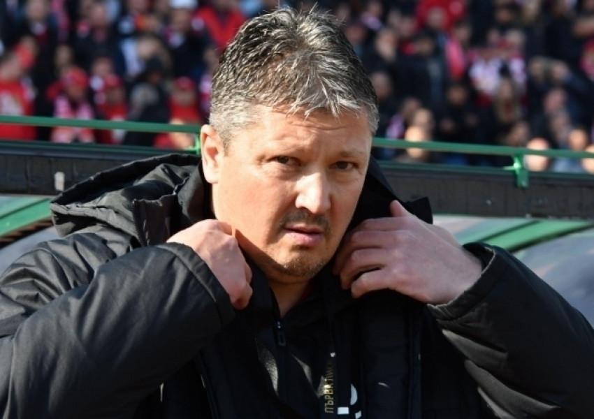 cc1594575cc Любо Пенев напусна ЦСКА след три месеца начело на тима